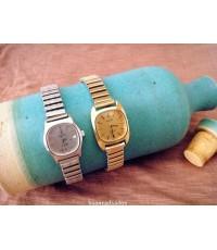 นาฬิกาข้อมือผู้หญิงวินเทจ