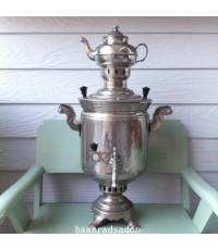 หม้อต้มน้ำชาสแตนเลส ชนิดใช้ถ่านไฟหุงต้ม
