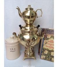 ชุดหม้อต้มชา ทองเหลือง งานตรุกี