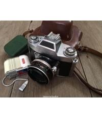 กล้อง EXA iia + Meyer 2.8/50