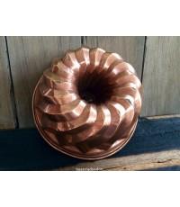 พิมพ์ขนมโบราณ งานทองแดง ทำมือ ใบใหญ่ น้ำหนักดี