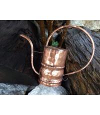 บัวรดน้ำ ทองแดงทำมือ เนื้อหนา สภาพเก่าที่สวย