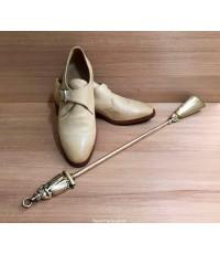 ช้อนตักรองเท้า งานทองเหลือง เยอรมันนี