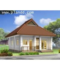 PlanDD-001 บ้านชั้นเดียว สไตล์ Contemporary Thai Design