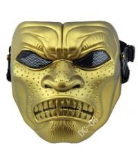 หน้ากากบีบีกัน.Desert Corps (สปาต้าทอง)วัสดุพลาสติก.มีซับด้านใน.ใส่เล่นๆหรือสะสม.  ราคา550บาท