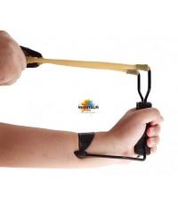 Wrist SlingShot Folding High Velocity Outdoor Hunting หนังสติ๊กสำหรับฝึกซ้อมแบบพับได้