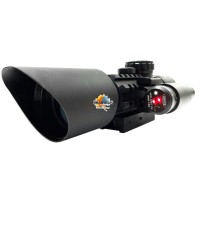 M9 RIFLE SCOPE WITH LASER SIGHT 3-10*42OE