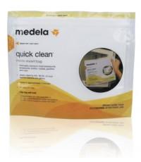 Medela Quick Clean Micro Steam Bag ถุงซิปนึ่งฆ่าเชื้อโรคด้วยไมโครเวฟ สะดวก ใช้ง่าย ปลอดภัย