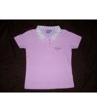 Disney เสื้อโปโล สีชมพู ปักลายPiglet น่ารักมากๆ ค่ะ