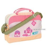 กระเป๋าคุณแม่สำหรับเดินทางBabito สีชมพู