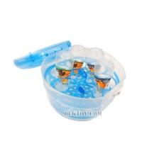 เครื่องอบขวดนมสำหรับเตาไมโครเวฟ สีฟ้า BPA FREE