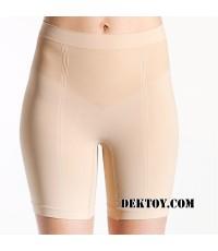 กางเกงในกระชับสัดส่วนหลังคลอด Cantaloop ไซส์ XL สีเนื้อ