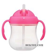 ถ้วยหัดดื่มแม็ก แม็ก ขั้น 3 (สีชมพู)