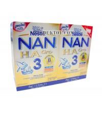 นมผงแนน เอช เอ 3 โกร -Nan HA 3 Gro ขนาด 1400 กรัม