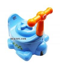 กระโถนเด็กรูปเต่าสีฟ้า USE-A04