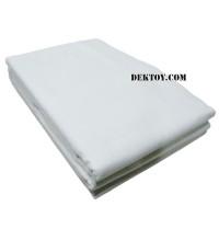 ผ้าอ้อมสาลูเกรด A 2 ชั้นไซส์ 27 x 27 นิ้ว สีขาวล้วน แพ็ค12ผืน