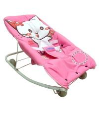 เปลโยกเด็กคิตตี้-kitty gardenสีชมพู