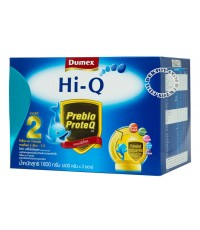 นมผงดูเม็กซ์ ไฮคิว พรีไบโอโพรเทก2-Dumex Hi-Q Prebio ProteQ 2 (1800g)