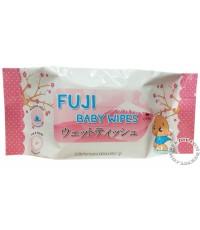 เบบี้ไวพส์ฟูจิ-Fuji Baby wipes 40 แผ่น x 6 ห่อ