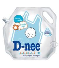 น้ำยาซักผ้าเด็กดีนี่-D-nee กลิ่น Lovely Sky 1800 มล.