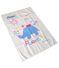 ผ้ายางแผ่นเรียบเพียวรีนไซส์ L ลายช้าง 60 x 90 ซม. 150070