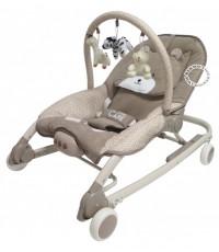 เปลโยกเด็กโมเดิร์นแคร์-Moderncare รุ่นหมีมิวสิค สีน้ำตาล