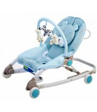 เปลโยกเด็กโมเดิร์นแคร์-Moderncare รุ่นหมีมิวสิค สีฟ้า