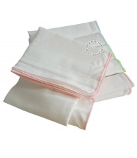 ผ้าอ้อมเนื้ออองฟองเนื้อละเอียด-Enfant Daiper Cottonไซส์ 29 x 29 นิ้ว แพ็ค 6 ผืน
