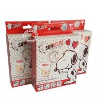 ถุงเก็บน้ำนมSunmum Snoopy 15 ใบ x 3 แพ็ค 45 ใบ