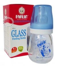 ขวดนมแก้วฟาร์ลิน 2 ออนซ์ สีฟ้า