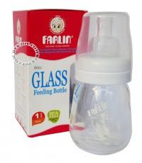 ขวดนมแก้วฟาร์ลิน 2 ออนซ์ สีขาว