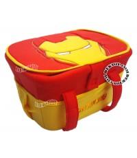 ตะกร้าพลาสติกหุ้มผ้า Marvel  ลาย I RON MAN DAG309-006