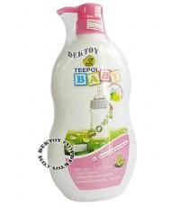 น้ำยาล้างขวดนม ล้างของเล่นเด็ก ทีโพล์ Teepol หัวปั๊ม 700 มล.