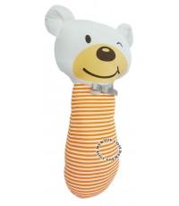 หมอนข้างเด็ก Tomtom joyful 9044 หมีส้ม