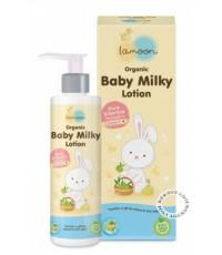 ละมุน ออร์แกนิค เบบี้มิลค์กี้โลชั่น Lamoon Organic Baby Milky Lotion 150 มล.