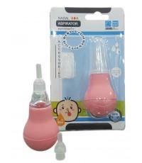 ลูกยางดูดน้ำมูกซิลิโคนป้าป้า-Papa CEQ-078/1แดง