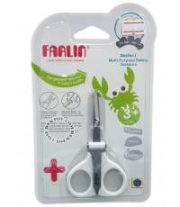 FARLIN ฟาร์ลิน กรรไกรตัดเล็บเด็กทารกฟาร์ลินแบบยาวพร้อมตะไบ USE-160A-1