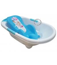 NANNY แนนนี่ อ่างอาบน้ำเด็กแนนนี่ N273 พร้อมเตียงอาบน้ำN271 ฟ้า