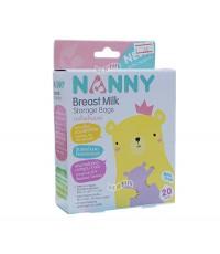 NANNY แนนนี่ ถุงเก็บน้ำนมแนนนี่ Nanny 20 ใบ