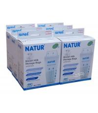 NATUR เนเจอร์ ถุงเก็บน้ำนมเนเจอร์Natur8ออนซ์50ใบx6กล่อง(300ใบ)