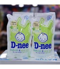 Dnee น้ำยาซักผ้าเด็กดีนี่ซื้อ1แถม1กลิ่น Organic Aloe Vera สีเขียว 600 มล.