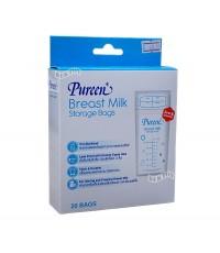 PUREEN เพียวรีน ถุงเก็บน้ำนมเพียวรีนPureen9ออนซ์(20ถุง)