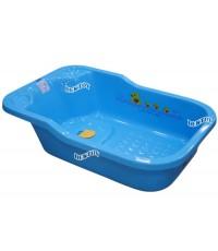 FIN BABIES PLUS อ่างอาบน้ำเด็กขนาดใหญ่ฟาร์ลินมีรูระบายน้ำ USE-A9C สีฟ้า