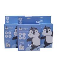 PENGUIN เพนกวินถุงเก็บน้ำนมเพนกวิน 8 ออนซ์30ใบx3กล่อง