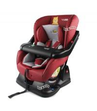 Fin babiesplus ฟินเบบี้พลัส คาร์ซีทติดรถยนต์ เบาะหนัง Car Seat Fin LB717H RED/BEIEG