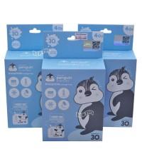 PENGUIN เพนกวินถุงเก็บน้ำนมเพนกวิน 4 ออนซ์30ใบx3กล่อง
