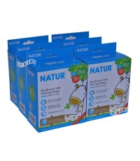 NATUR เนเจอร์ ถุงเก็บน้ำนมเนเจอร์ลายยีราฟ Limited Edition 8ออนซ์50ใบ 12 กล่อง