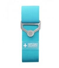 สายรัดกระเป๋าเดินทางแบบยางยืด 2 way Luggage Belt สีฟ้า ตัวช่วยขนสัมภาระ