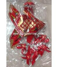โมบายปลาตะเพียน สีแดง+ทอง