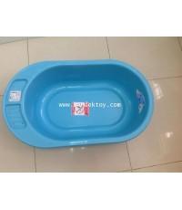 กะละมังอาบน้ำเด็กเล็ก PAPA สีฟ้า